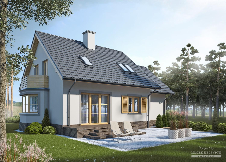 Projekt domu LK&691
