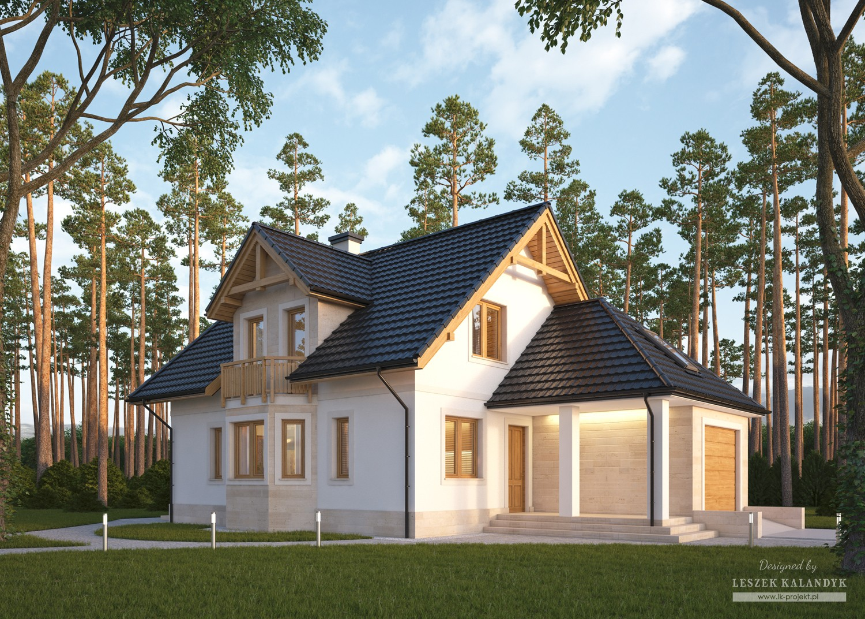Projekt domu LK&639