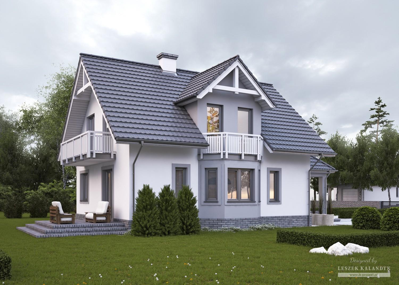 Projekt domu LK&440