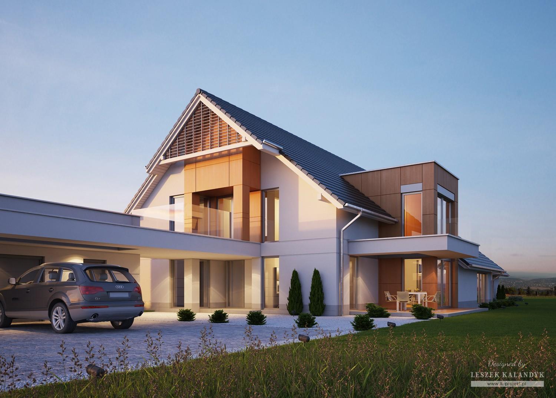 Projekt domu LK&1158