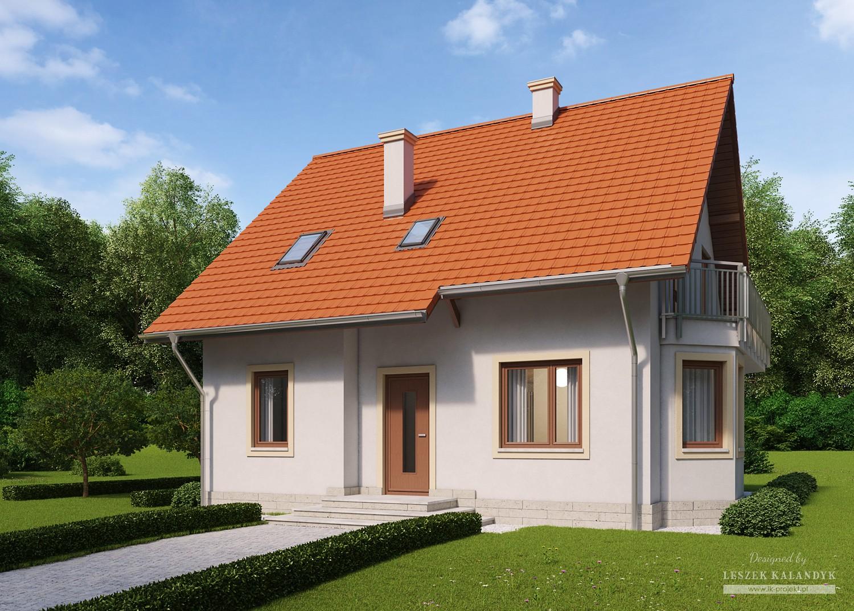 Projekt domu LK&649