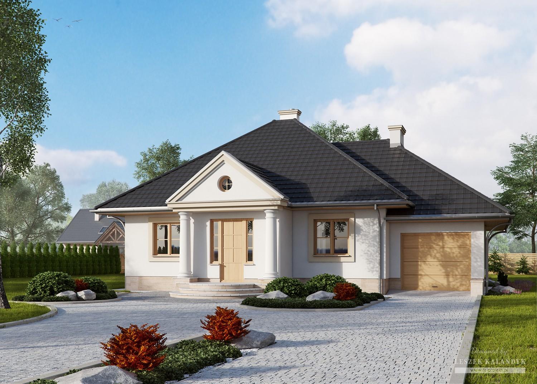 Projekt domu LK&343