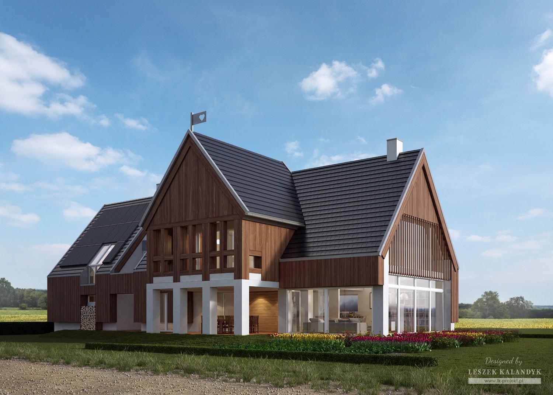 Projekt domu LK&1196