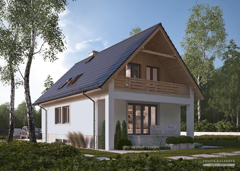 Projekt domu LK&471