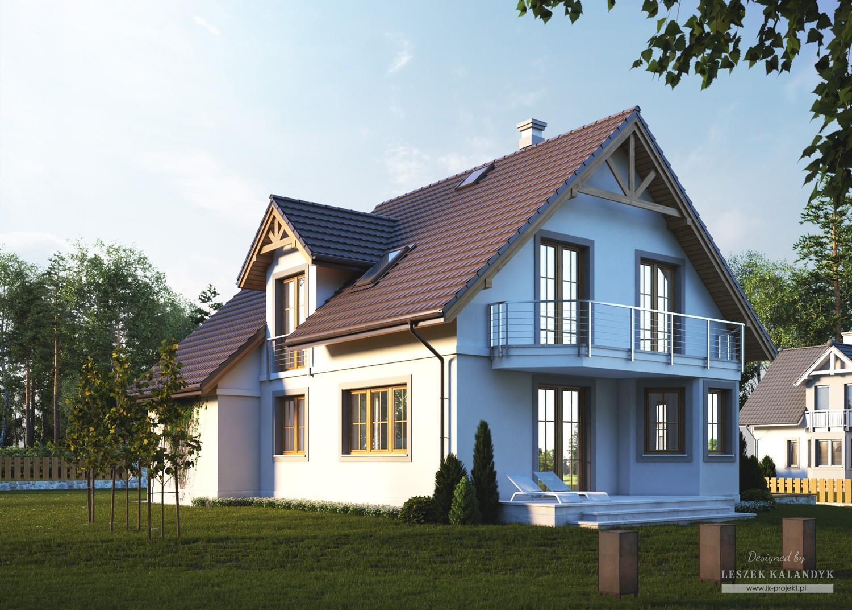 Projekt domu LK&658