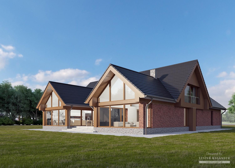 Projekt domu LK&1185