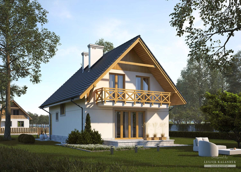 Projekt domu LK&472
