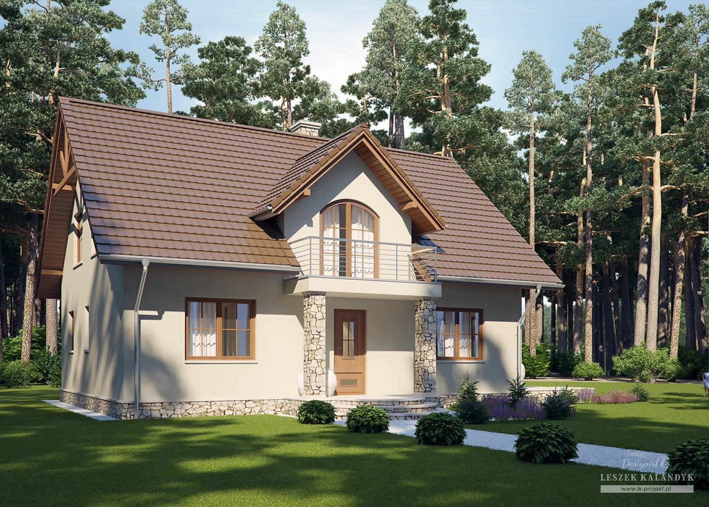 Projekt domu LK&731