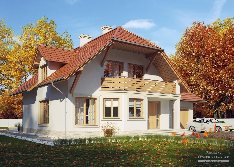 Projekt domu LK&495