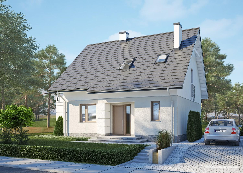 Projekt domu LK&1213