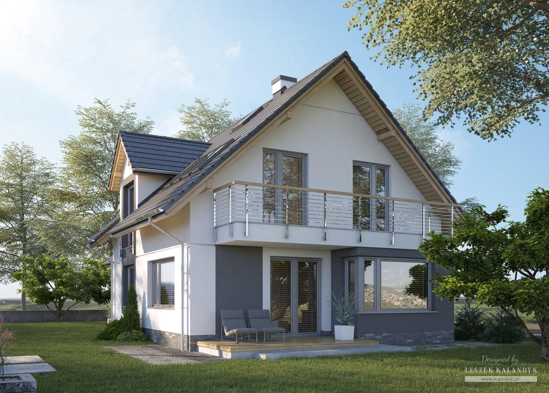 Projekt domu LK&1212