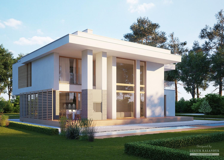 Projekt domu LK&1209
