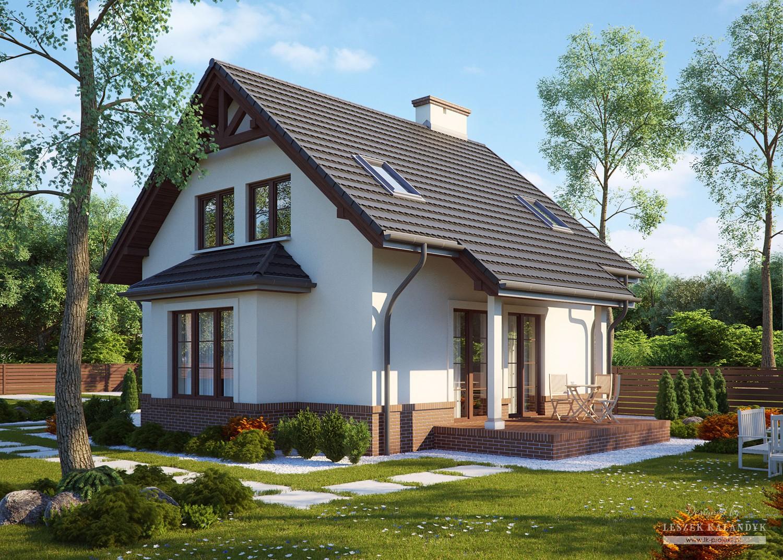 Projekt domu LK&573