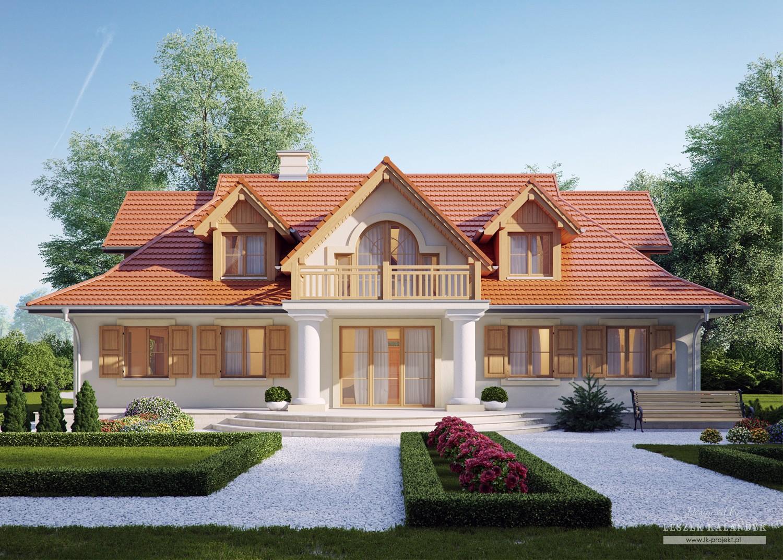 Projekt domu LK&414