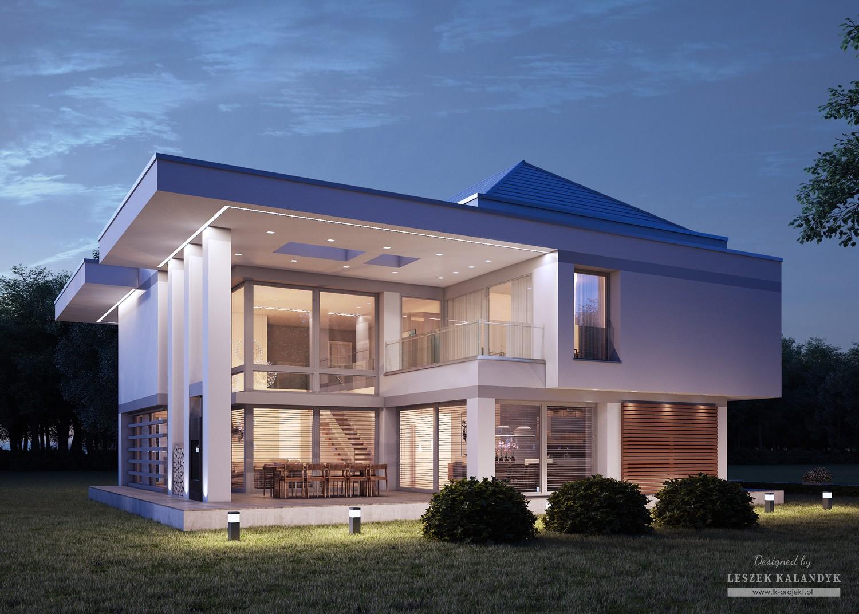 Projekt domu LK&1238