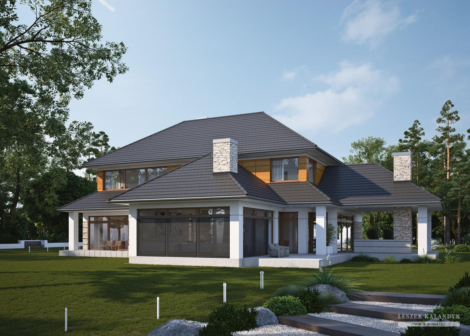 Projekt domu LK&1240
