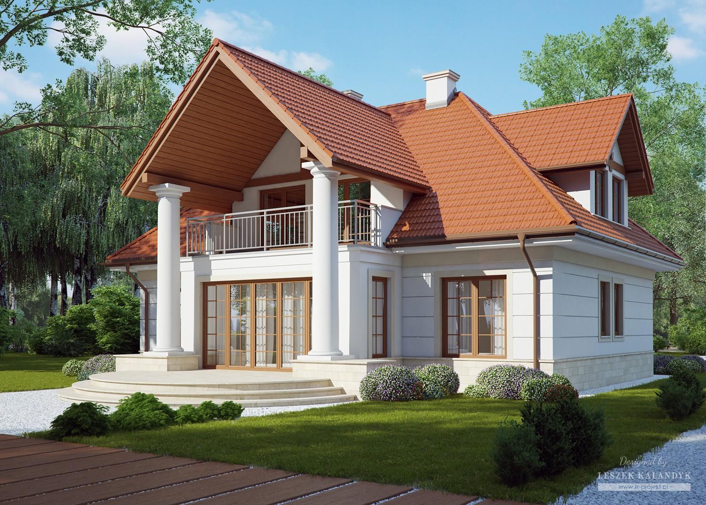 Projekt domu LK&795