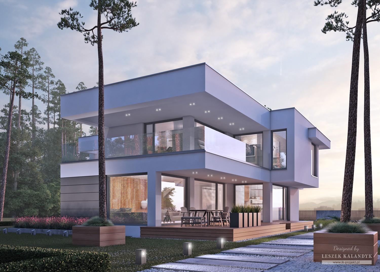 Projekt domu LK&1252