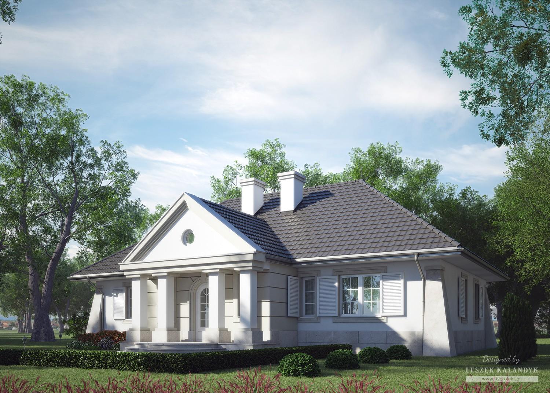 Projekt domu LK&464