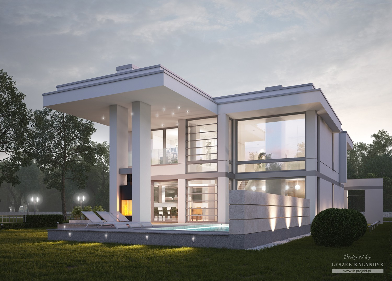 Projekt domu LK&1269
