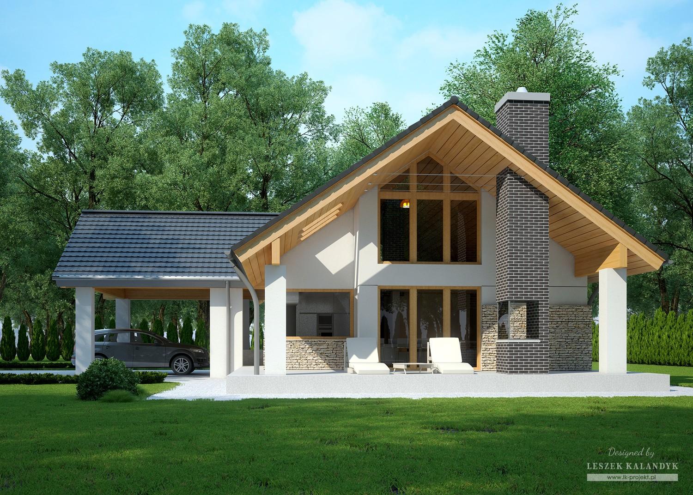 Projekt domu LK&1109