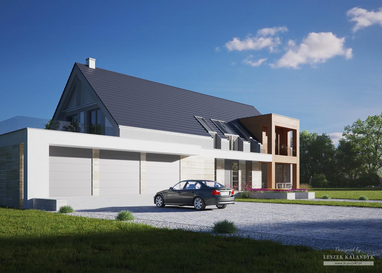 Projekt domu LK&1284