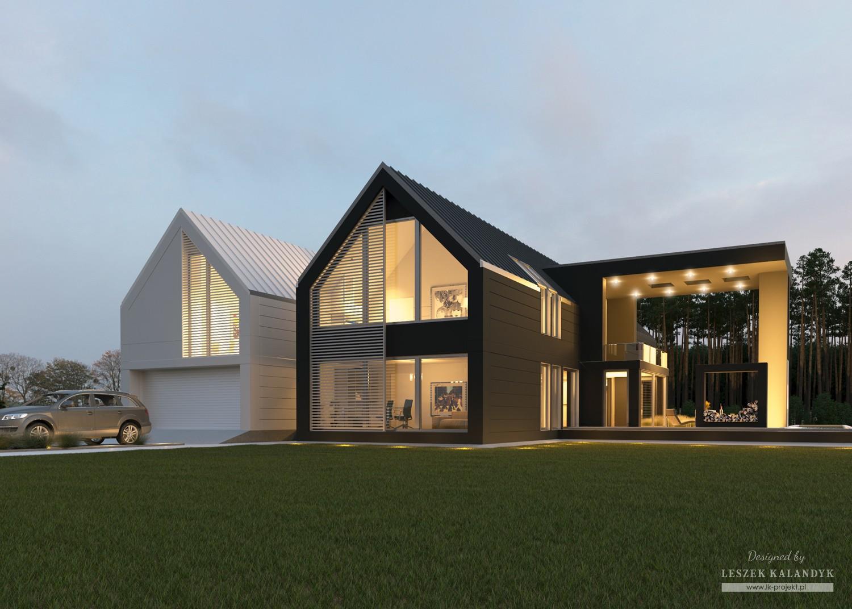 Projekt domu LK&1267
