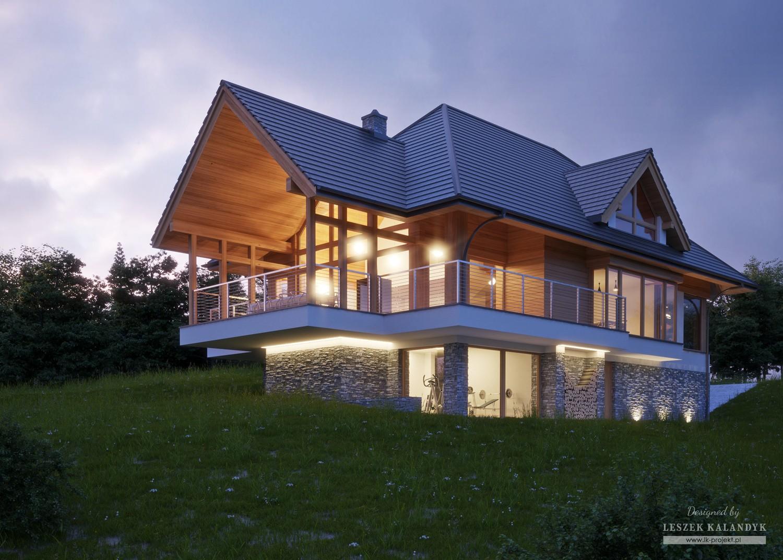 Projekt domu LK&1300
