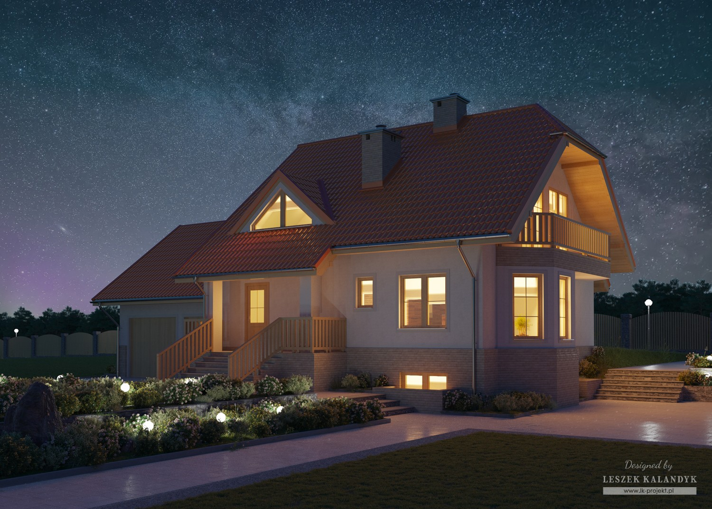 Projekt domu LK&14