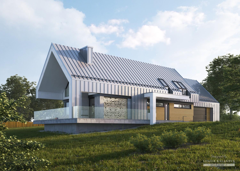 Projekt domu LK&1329