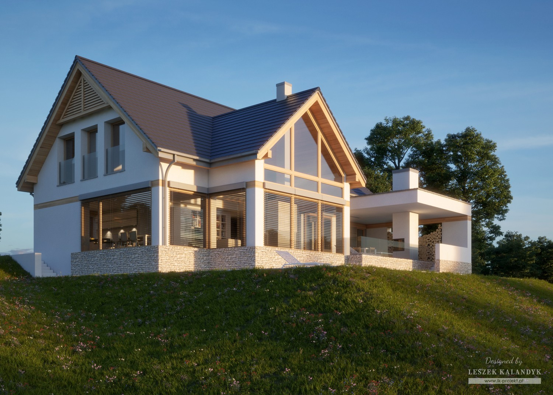 Projekt domu LK&1303