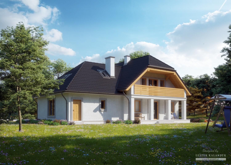 Projekt domu LK&676