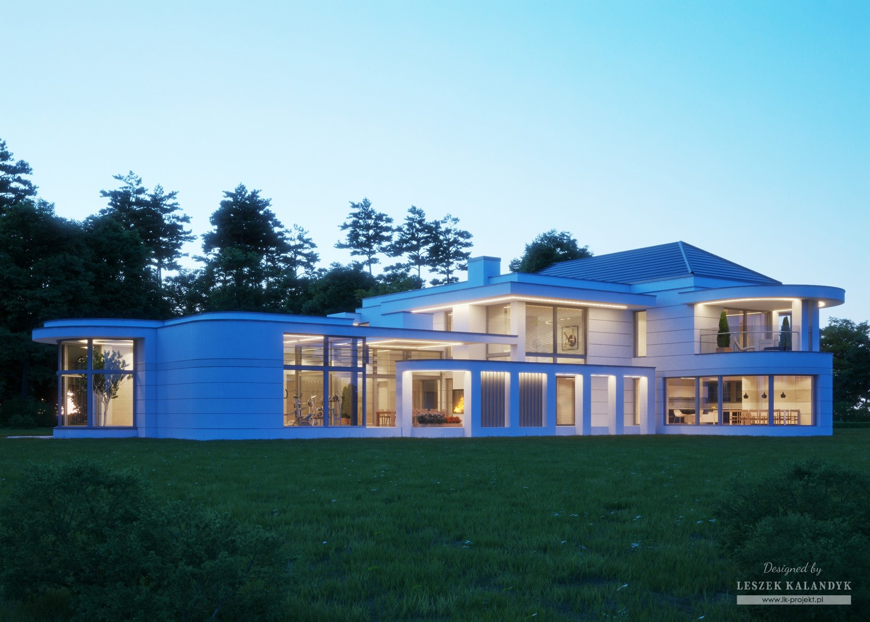 Projekt domu LK&1319