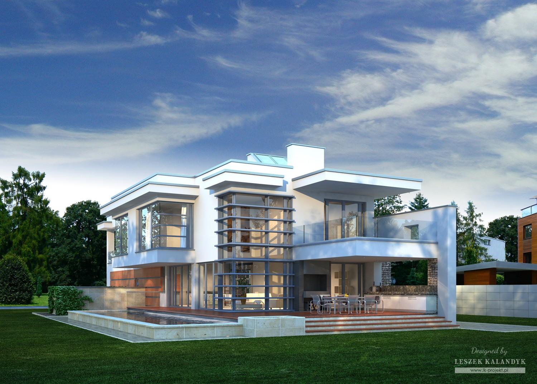 Projekt domu LK&683