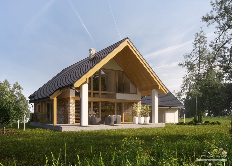 Projekt domu LK&1342