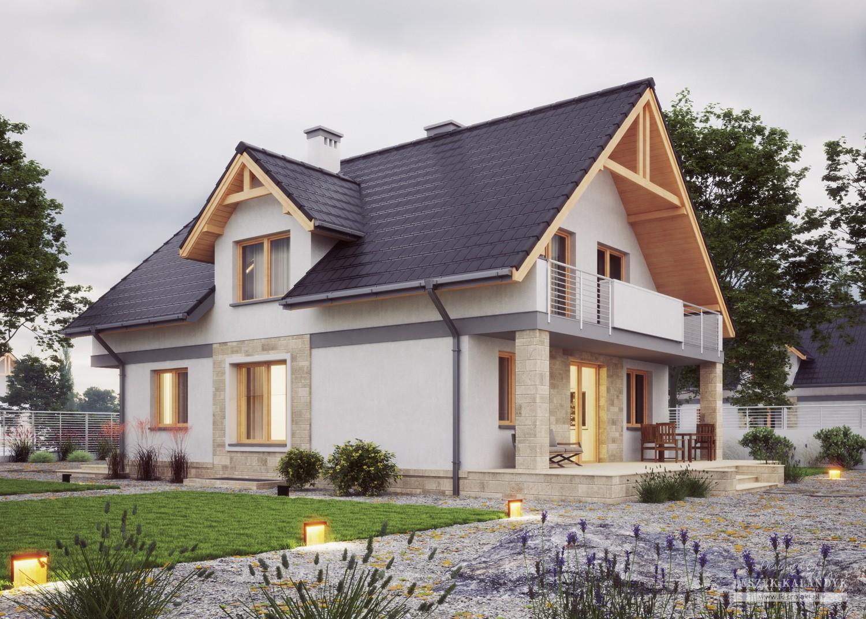 Projekt domu LK&786