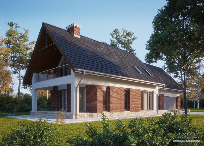 Projekt domu LK&771