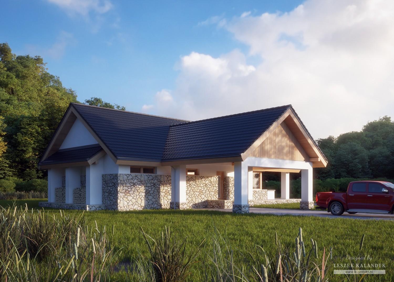 Projekt domu LK&836