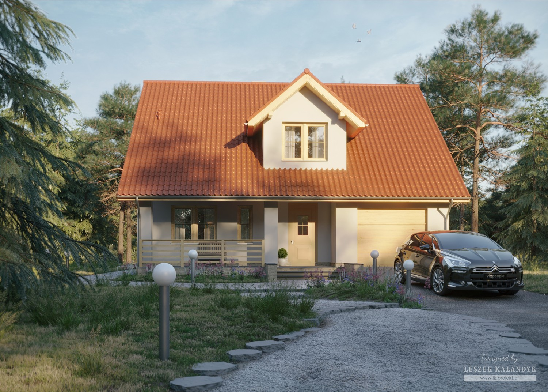 Projekt domu LK&724