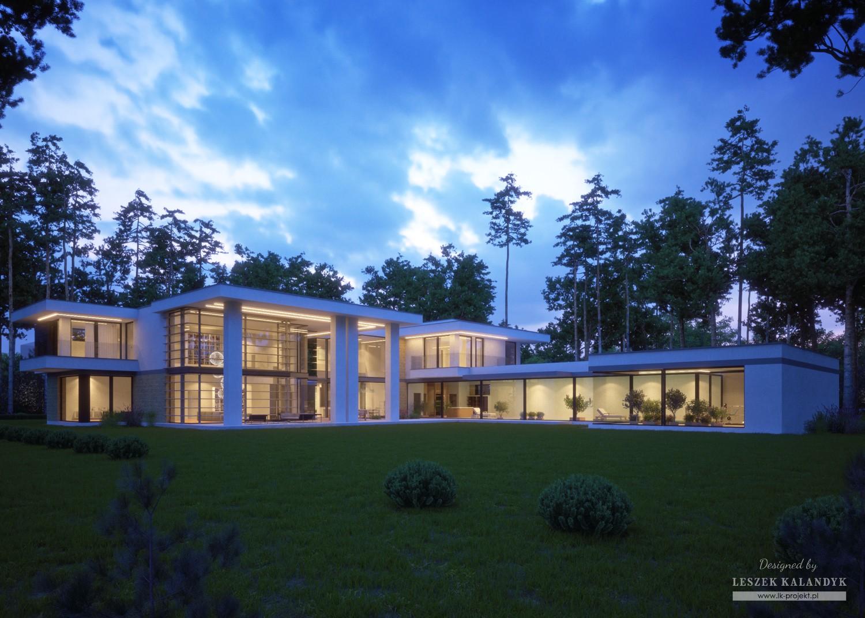Projekt domu LK&1350
