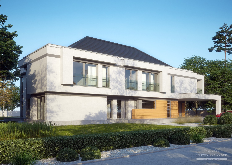 Projekt domu LK&1356