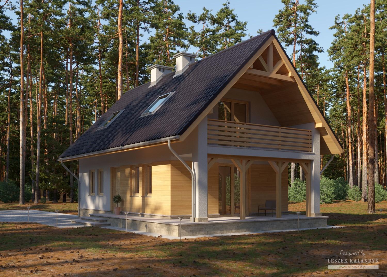 Projekt domu LK&822