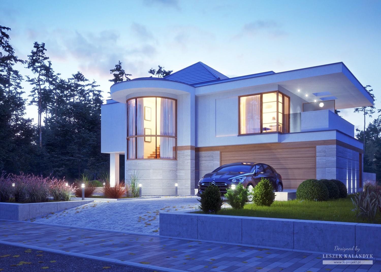 Projekt domu LK&1370
