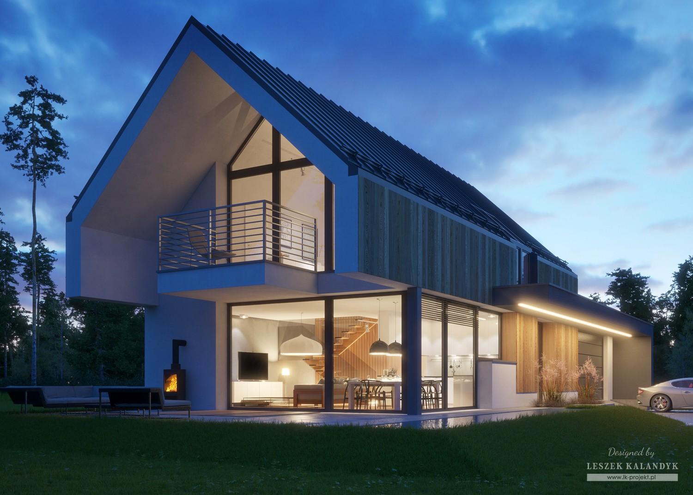 Projekt domu LK&1398