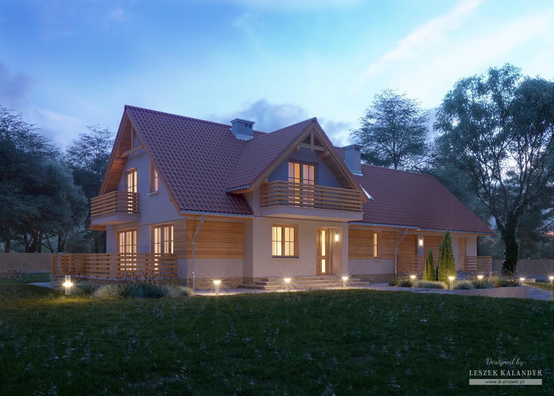 Projekt domu LK&776