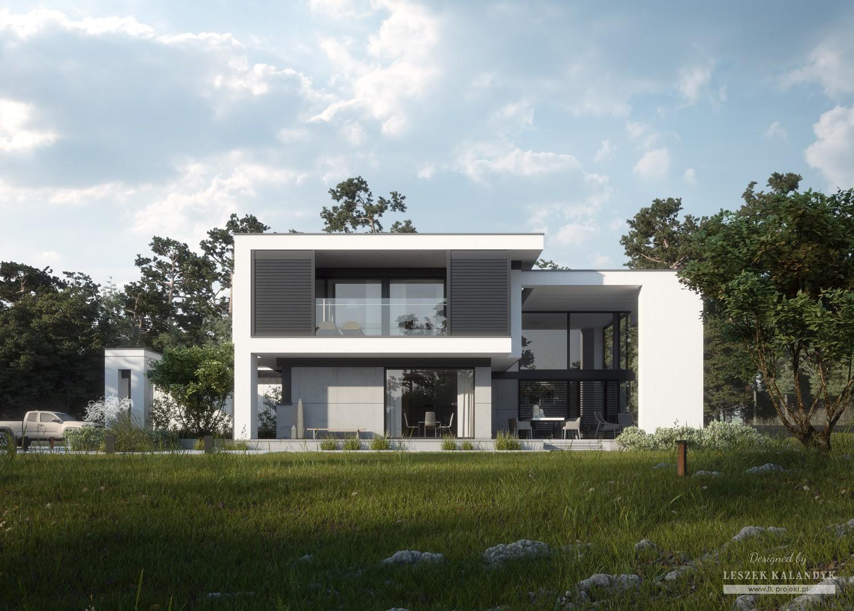 Projekt domu LK&1372