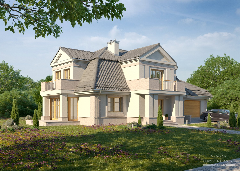 Projekt domu LK&832