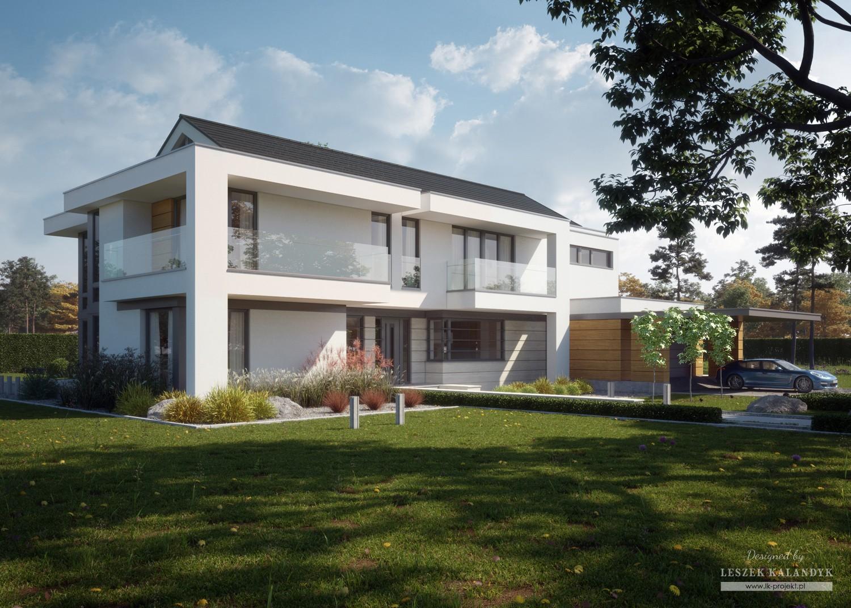 Projekt domu LK&1358