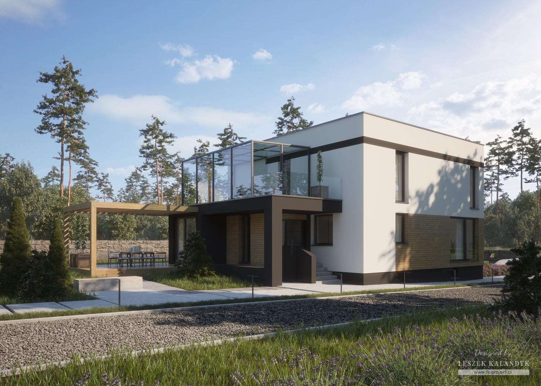 Projekt domu LK&1383