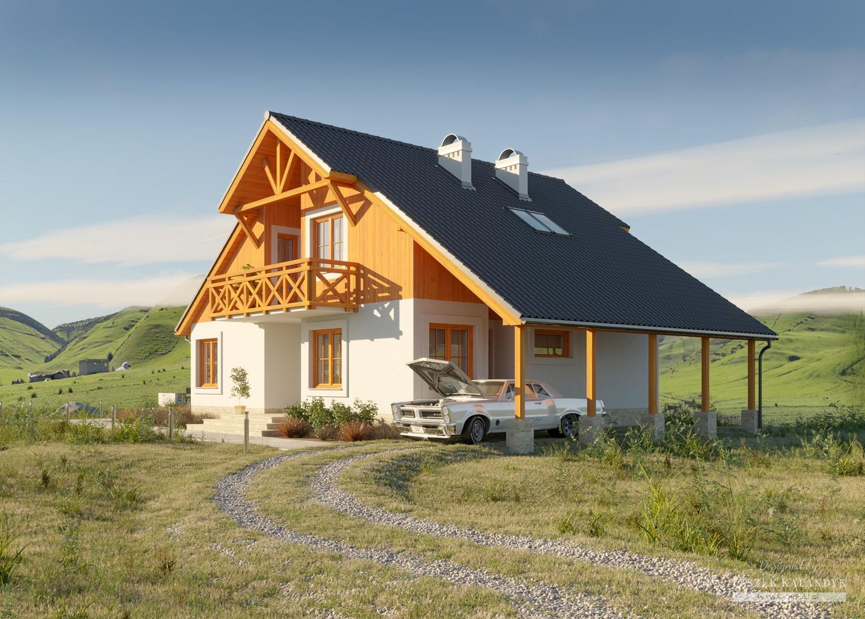 Projekt domu LK&199